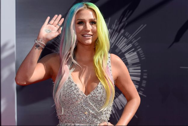Kesha en 2014 au MTV Music Video Awards
