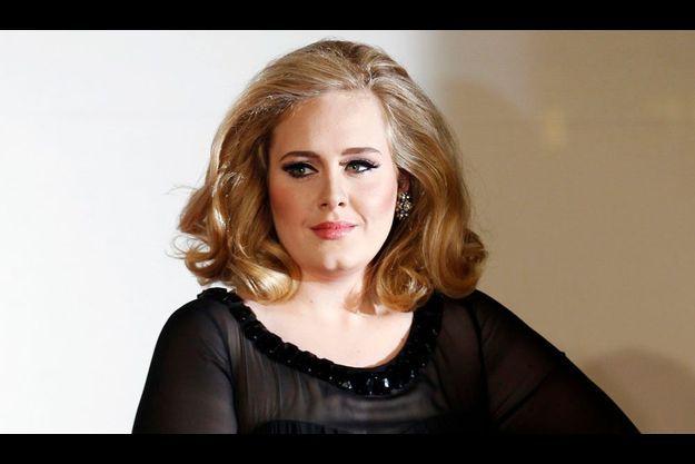 La chanteuse britannique Adele.