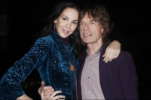L'Wren Scott et Mick Jagger en 2012
