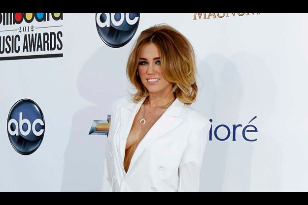 Miley Cyrus aux Billboard Music Awards.