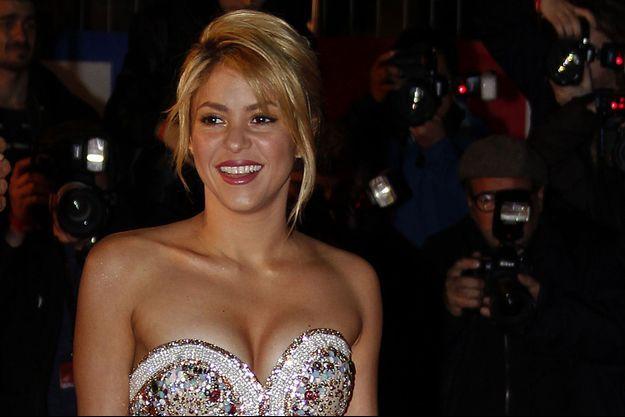 Shakira en janvier 2012.