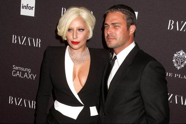 Lady Gaga et Taylor Kinney à New York en septembre dernier