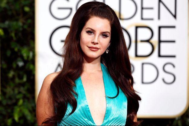 Lana Del Rey en janvier dernier.