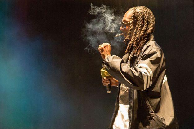 Snoop Dogg en concert à Chicago le 13 septembre dernier.