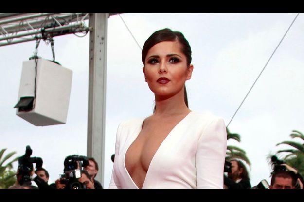 Cheryl Cole au festival de Cannes, cette année.