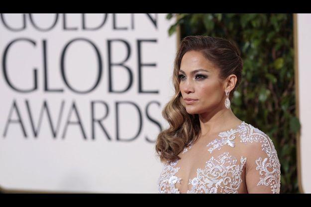 Jennifer Lopez lors des derniers Golden Globes.