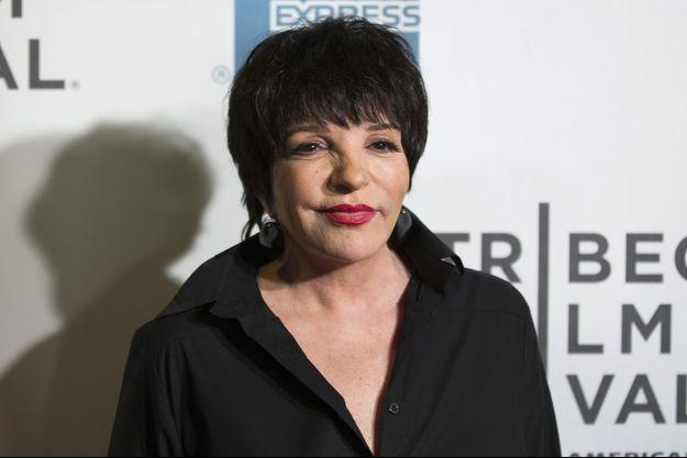 Liza Minnelli à New York en avril 2013