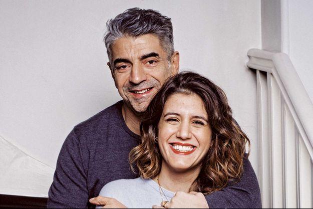 Joana, la fille de Daniel Balavoine, et Didier Varrod, co-auteur du documentaire hommage au chanteur.