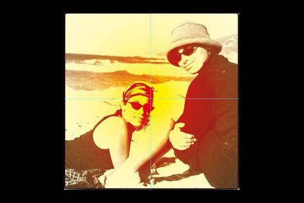 Marie et Laurette (à dr.), lors de ses dernières vacances en Corse.