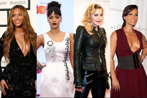 Madonna, Beyoncé, Rihanna, Alicia Keys investies dans le projet Tidal