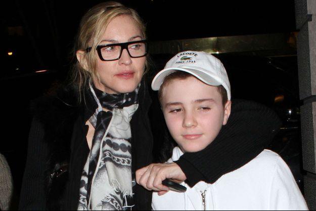 Madonna et Rocco en 2013.
