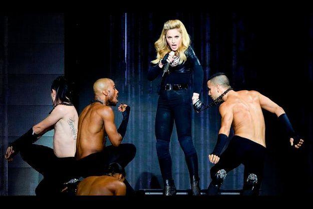 Madonna en concert.