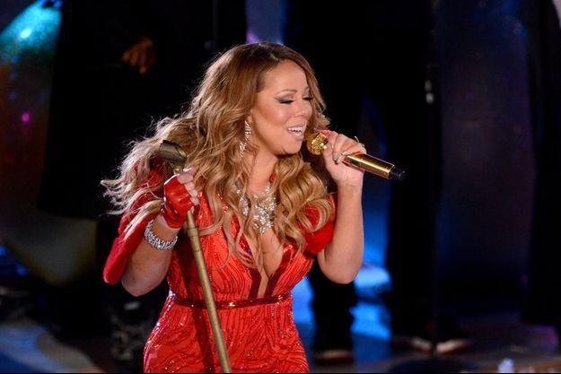 Mariah Carey au Rockfeller Center pour Noël le 3 décembre dernier
