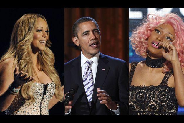 Barack Obama a commenté la dispute entre Nicki Minaj et Mariah Carey.