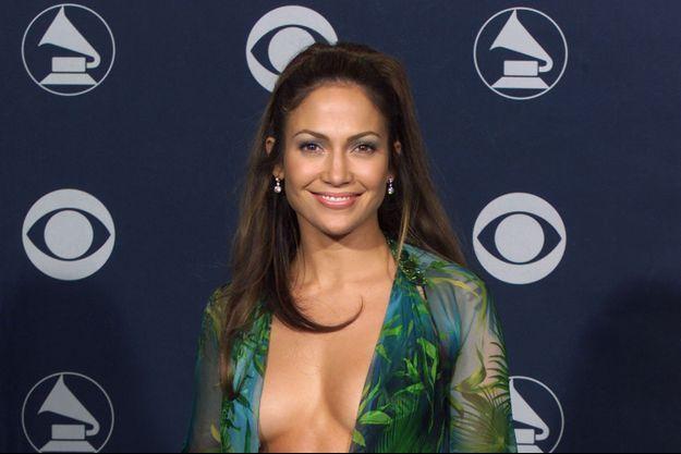 Jennifer Lopez aux Grammy Awards en 2000