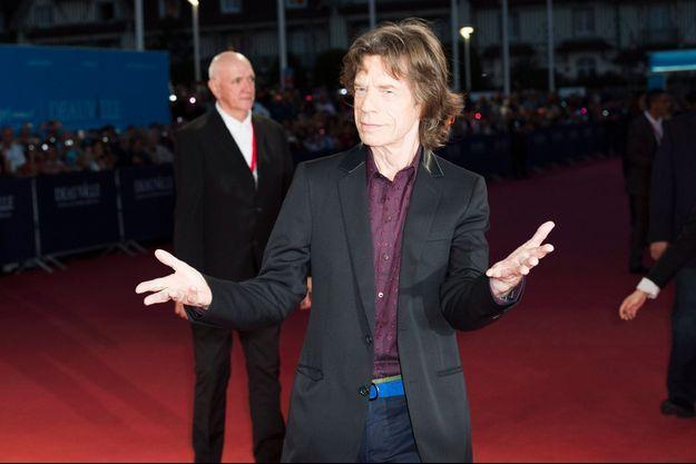 Mick Jagger au Festival de Deauville.