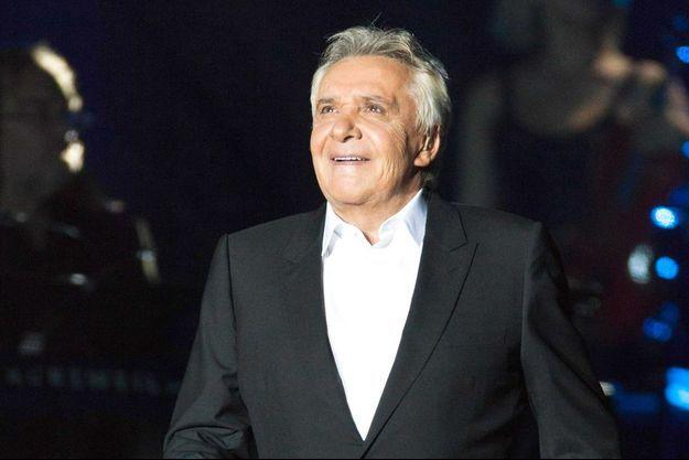 Michel Sardou en concert en 2013.