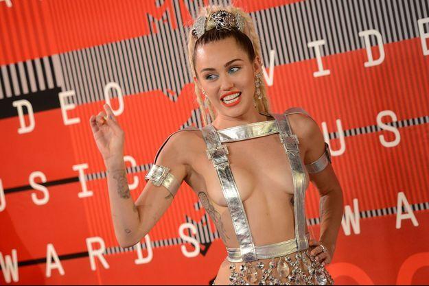 Miley Cyrus aux MTV Video Music Awards le 30 août dernier à Los Angeles.