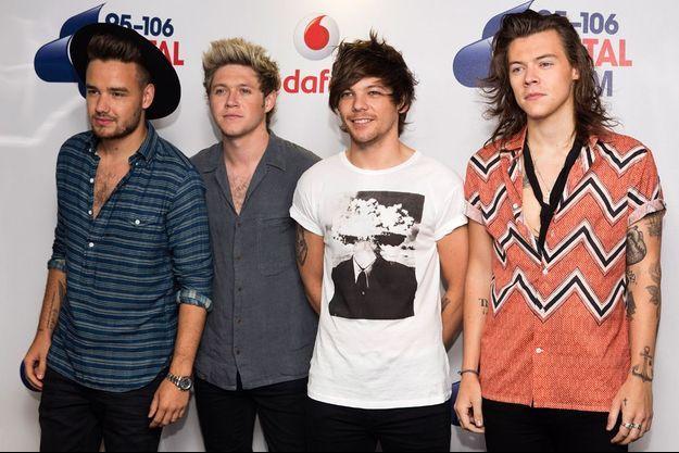 Les One Direction à Londres, en juin 2015.