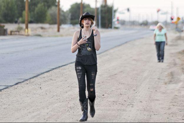 Le 25 mai 2013, dans le ranch de sa mère, Debbie Rowe, à Palmdale, une semaine avant le drame.