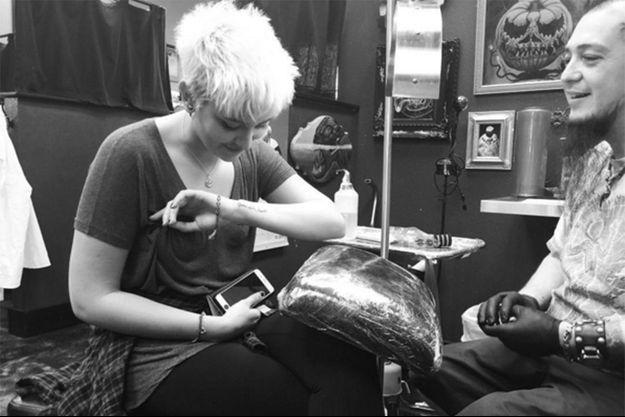 Paris Jackson a décidé de se tatouer pour ses 18 ans.