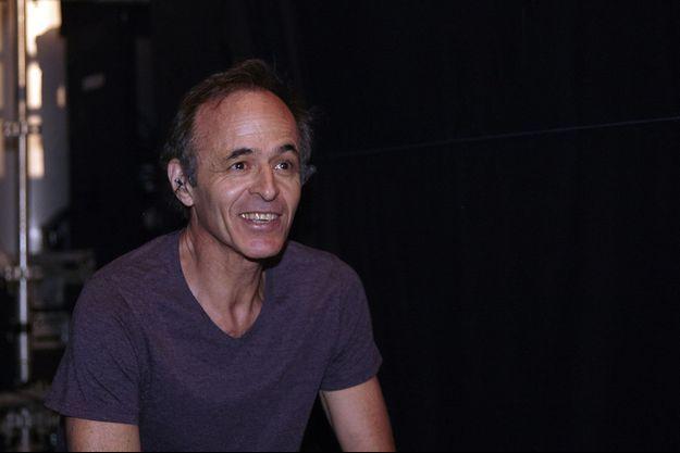 Jean-Jacques Goldman lors du concert des Enfoirés à Ouveillan dans l'Aude, le 20 juillet 2014