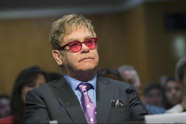Elton John en mai 2015 à Washington.