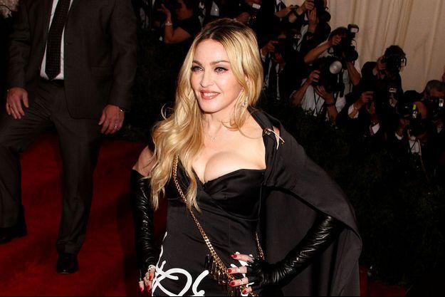 Madonna au Met Ball 2015 à New-York le 4 mai dernier