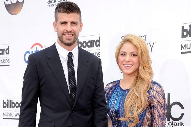 Shakira et Gerard Piqué aux Billboard Music Awards le 18 mai 2014