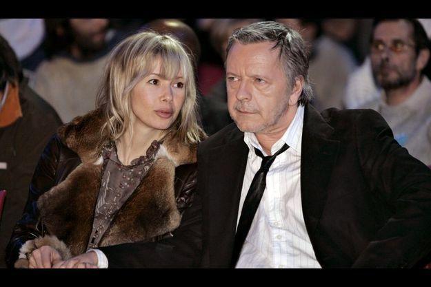 Renaud et sa femme, Romane, en 2007.