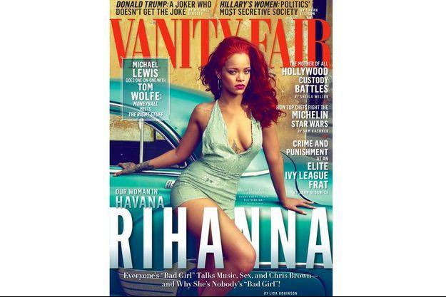 Rihanna en Une de Vanity Fair US.