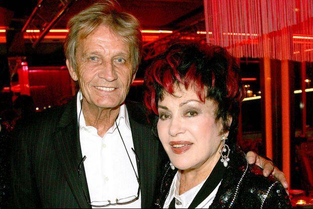 Rika Zaraï et son mari, Jean-Pierre, à une soirée France 2 en 2009.