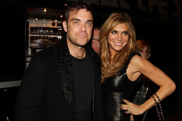 Robbie Williams et Ayda Field, mariés bientôt deux enfants.