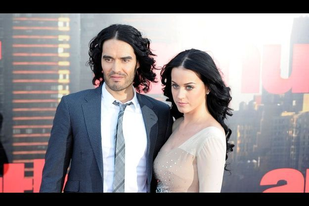 Russell Brand et Katy Perry.
