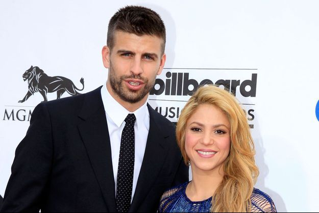 Gerard Piqué et Shakira en mai dernier à la soirée des Billboard Music Awards à Las Vegas.