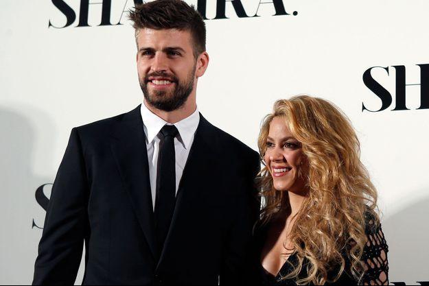 Gerard Piqué et Shakira en mars dernier lors de la présentation du nouvel album de la chanteuse.