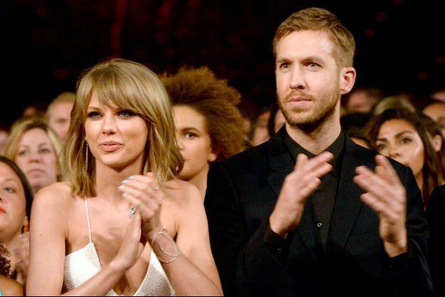 Taylor Swift et Calvin Harris aux Billboard Music Awards 2015.