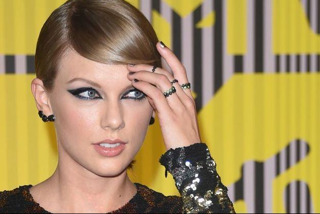 Taylor Swift lors des MTV VMA 2015.