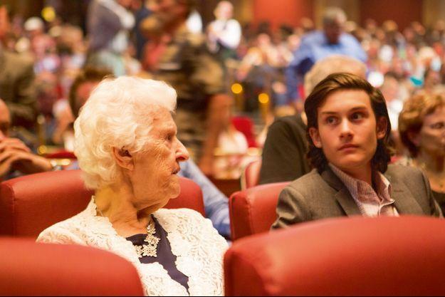 Thérèse et René-Charles étaient dans le public du Colosseum, le 27 août dernier, pour soutenir Céline.