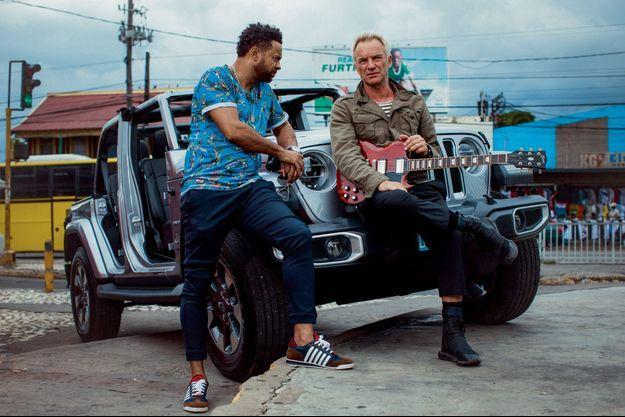Shaggy et Sting à Kingston.