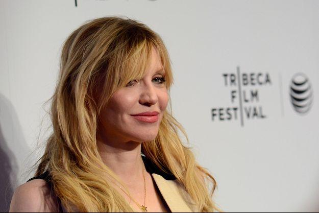 Courtney Love en avril dernier à New York.
