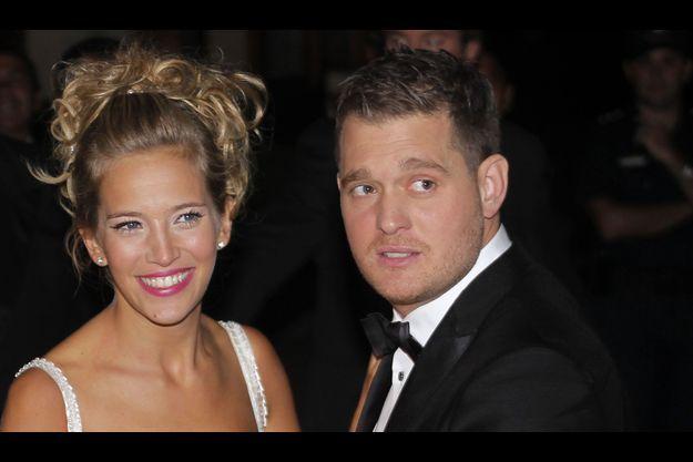 Michael Bublé et son épouse.