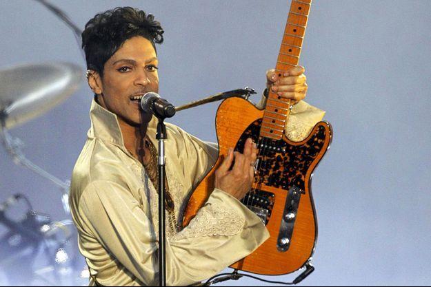 Prince en concert en juillet 2011.