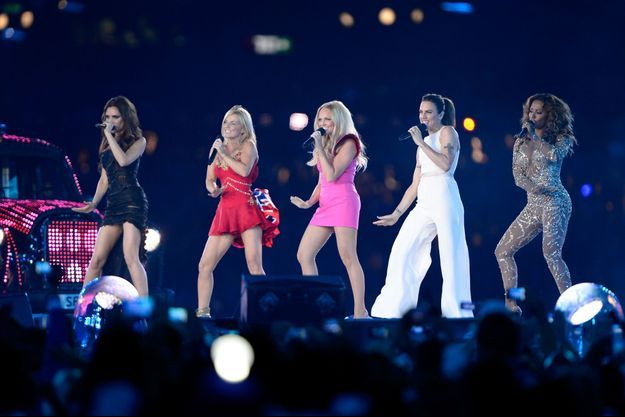 Les Spice Girls aux Jeux Olympiques de Londres en 2012.