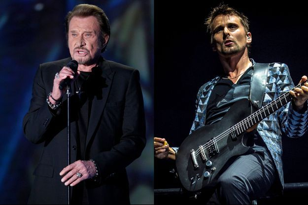 Johnny Hallyday et Matthew Bellamy, un prochain duo ?