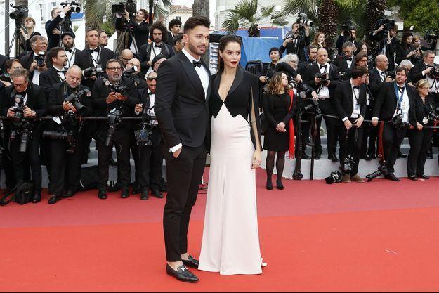 Nabilla et Thomas Vergara au Festival de Cannes 2019