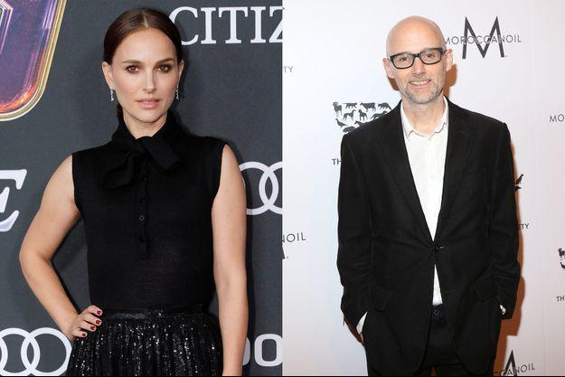 Natalie Portman et Moby