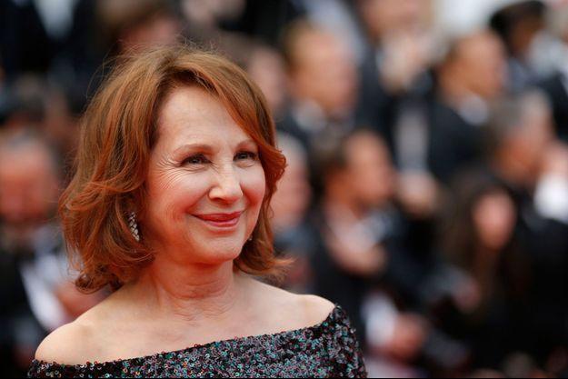 Natahlie Baye, ici sur le tapis rouge de Cannes, en mai 2019.