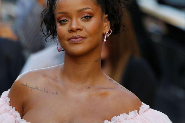 """Rihanna à la première de """"Valérian et la Cité des mille planètes"""", à Los Angeles, le 17 juillet dernier."""