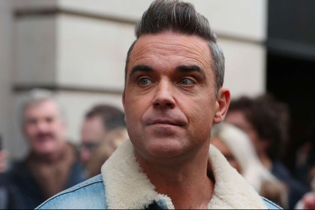 Robbie Williams à Londres en décembre 2017